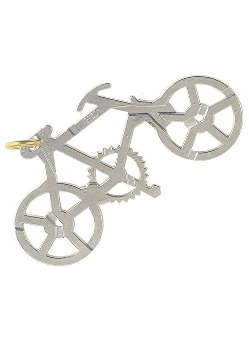 Eureka Eureka Cast Puzzle Bike Renkli